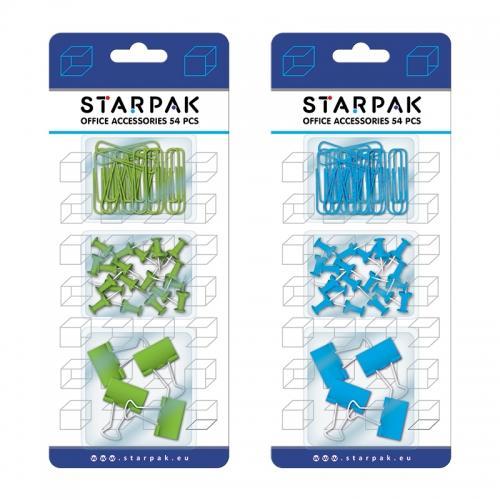 Akcesoria biurowe 54 sztuki STARPAK 395082