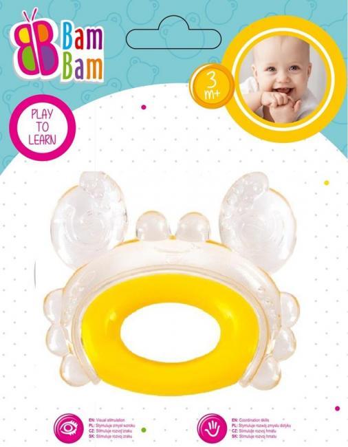 Gryzak Krab transparentny BAM BAM 430916