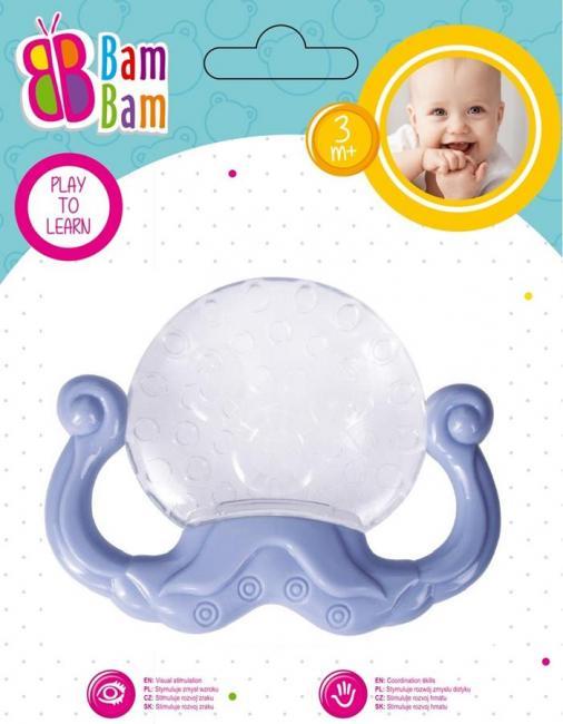 Gryzak Ośmiornica transparentny BAM BAM 430917