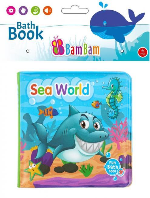 Książeczka do kąpieli Morski Świat BAM BAM 432483
