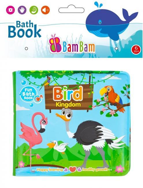 Książeczka do kąpieli Ptaki BAM BAM 432480