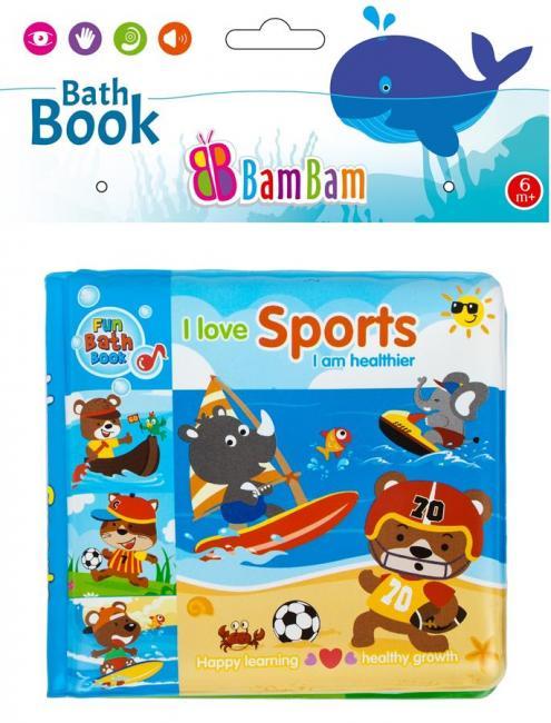 Książeczka do kąpieli Sport BAM BAM 432484