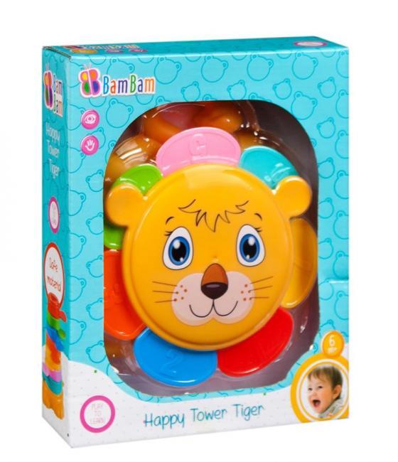 Wesoła Wieża Tygrys BAM BAM 428984