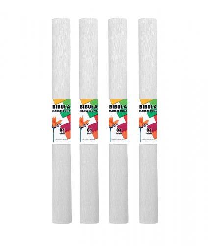 Bibuła marszczona 50x200 cm biały STARPAK 218488