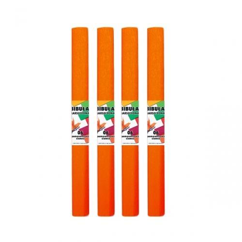 Bibuła marszczona 50x200 cm ciemny pomarańcz STARPAK 218492