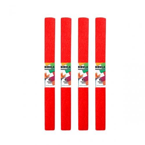 Bibuła marszczona 50x200 cm czerwona STARPAK 218493