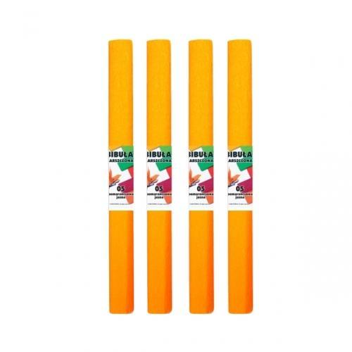 Bibuła marszczona 50x200 cm jasny pomarańcz STARPAK 218491