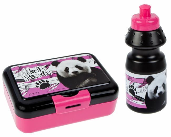 Bidon z pudełkiem śniadaniowym Panda STARPAK 450795