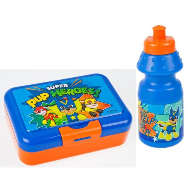Bidon z pudełkiem śniadaniowym Psi Patrol STARPAK 447904