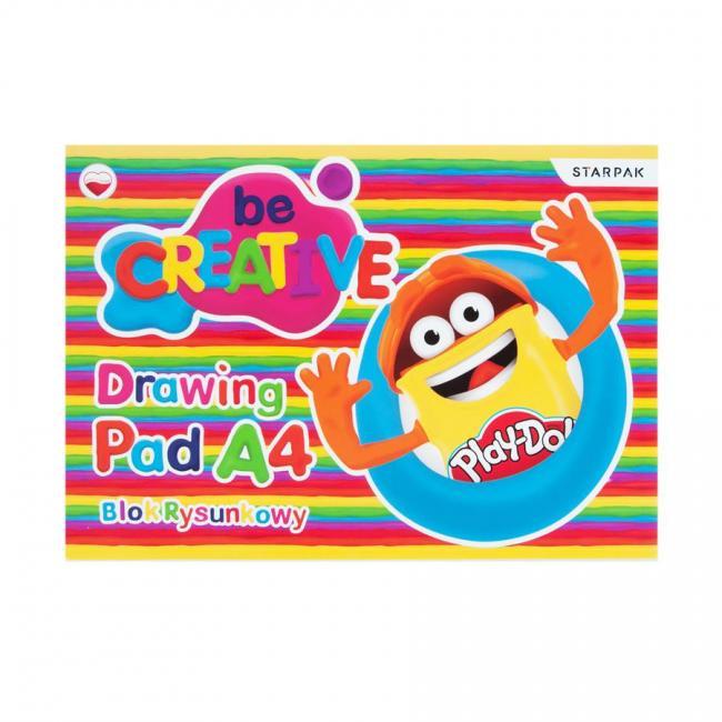 Blok rysunkowy A4 Play-Doh STARPAK 453898