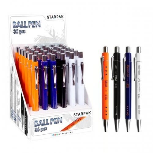 Długopis automatyczny Icon 36 sztuk STARPAK 363367