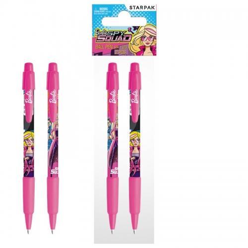 Długopis automatyczny 2 szt Barbie Spy Squad STARPAK 352853