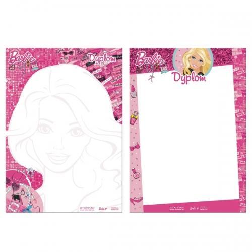 Dyplom A4 Barbie STARPAK 301750