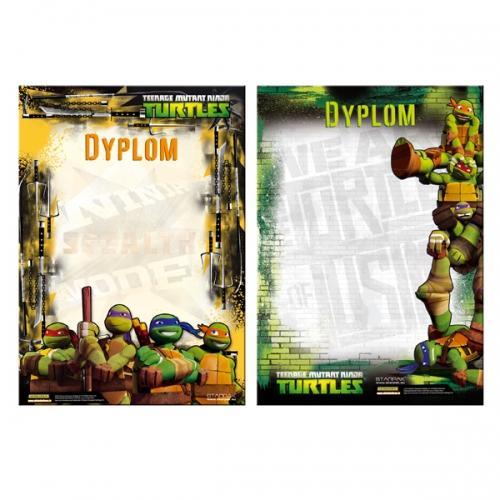 Dyplom A4 Ninja Turtles STARPAK 298343