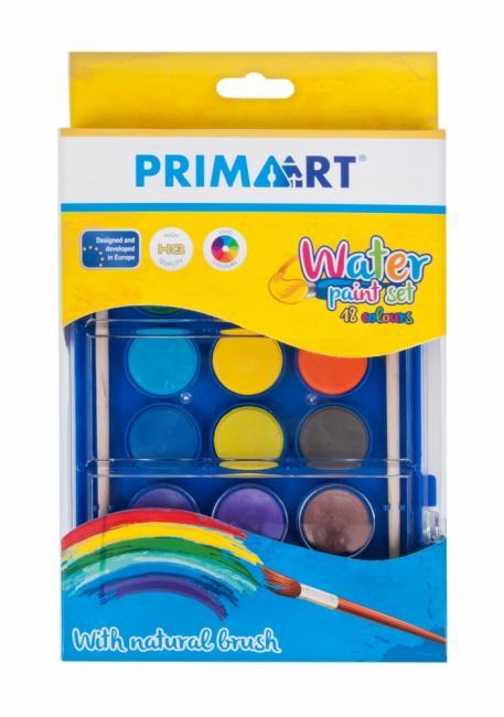 Farby akwarelowe 18 kolorów z pędzelkiem PRIMA ART 448149