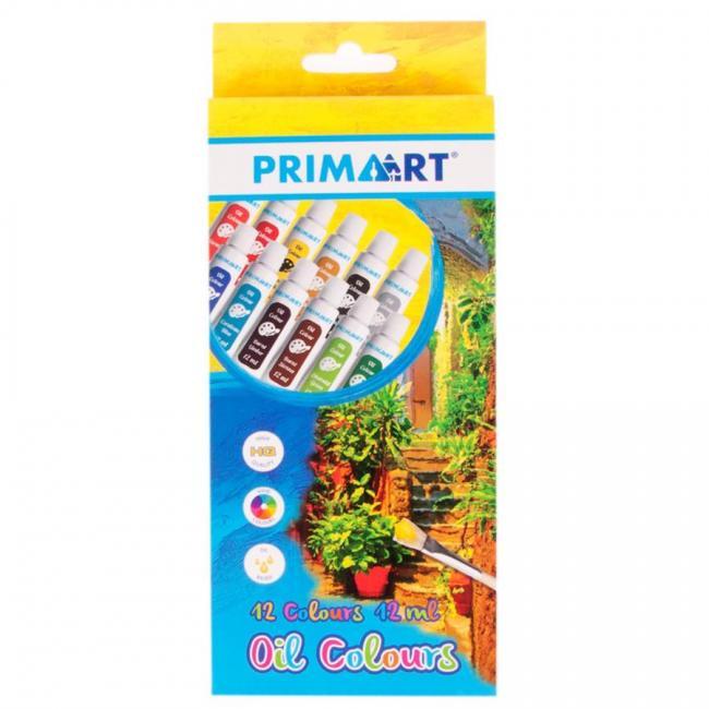 Farby olejne 12 kolorów PRIMA ART 322825