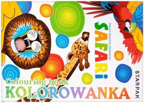 Kolorowanka A4 Safari STARPAK 397698