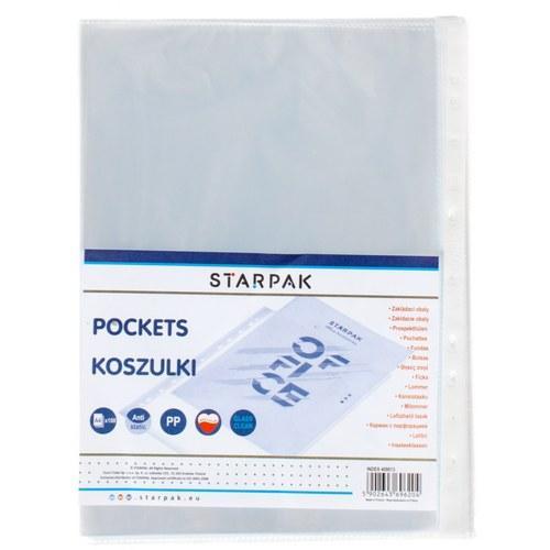Koszulki A4 krystaliczne STARPAK 409013