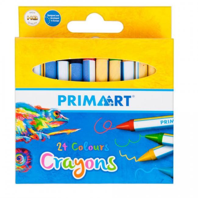 Kredki woskowe 24 kolory PRIMA ART 447733