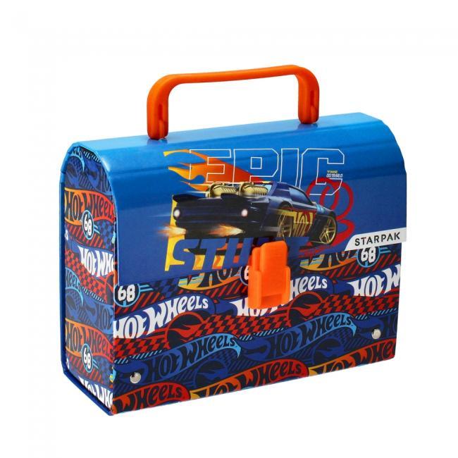 Kuferek kartonowy z rączką Hot Wheels STARPAK 339002