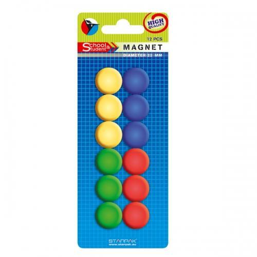 Magnesy 22 mm mix STARPAK 244150