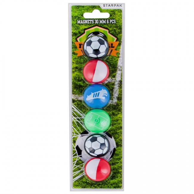 Magnesy 30 mm Football STARPAK 405599