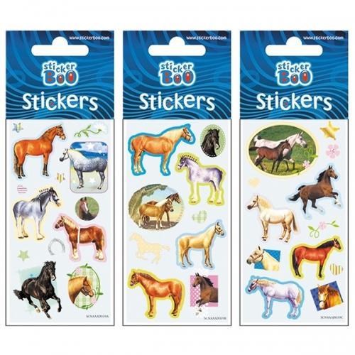 Naklejki StickerBoo Silver 66x180  Koniki 2 382540