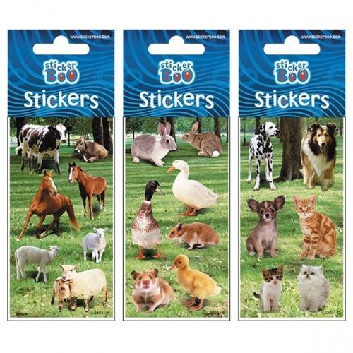 Naklejki StickerBoo 66X180  silver Zwierzęta 3 PBH