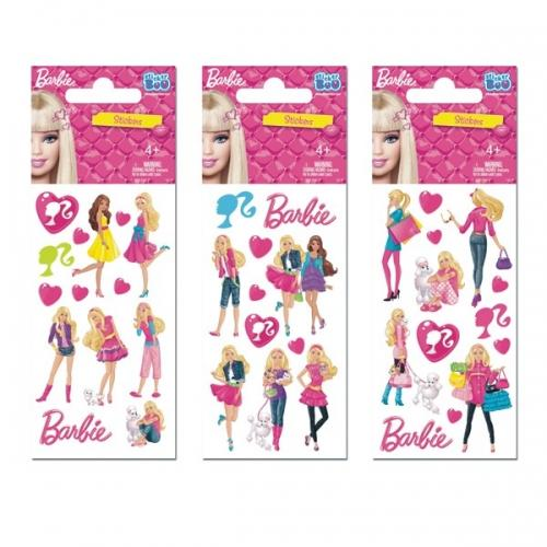 Naklejka StickerBoo 66X126 laser Barbie