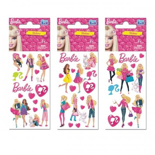Naklejka StickerBoo 66X126 silver Barbie