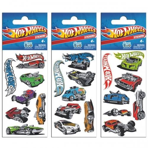 Naklejka StickerBoo 66X126 silver Hot Wheels Hot Wheels