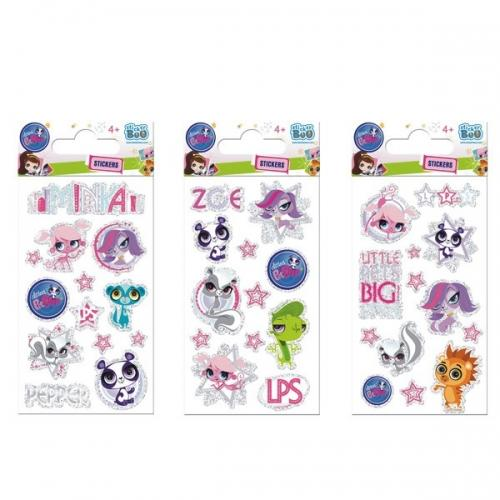 Naklejka StickerBoo 80x160 brokat Littlest Pet Shop
