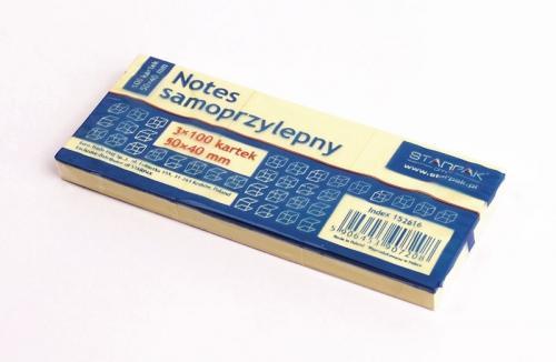 Notes samoprzylepny 50x40 mm STARPAK 152616