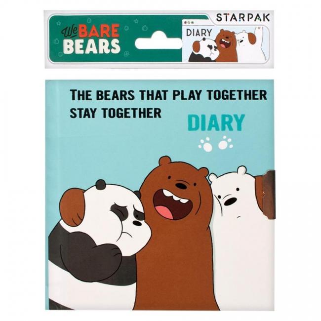 Pamiętnik na kłódkę We Bare Bears STARPAK 410011