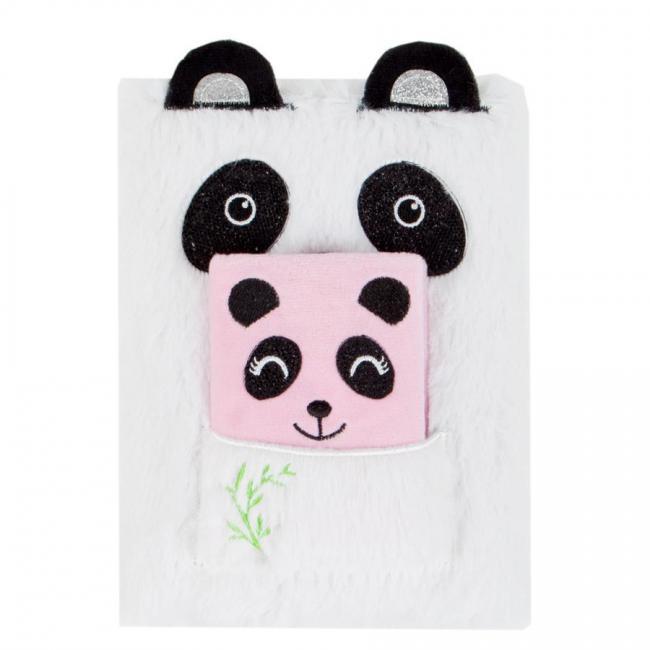 Pamiętnik pluszowy Panda STARPAK 443213