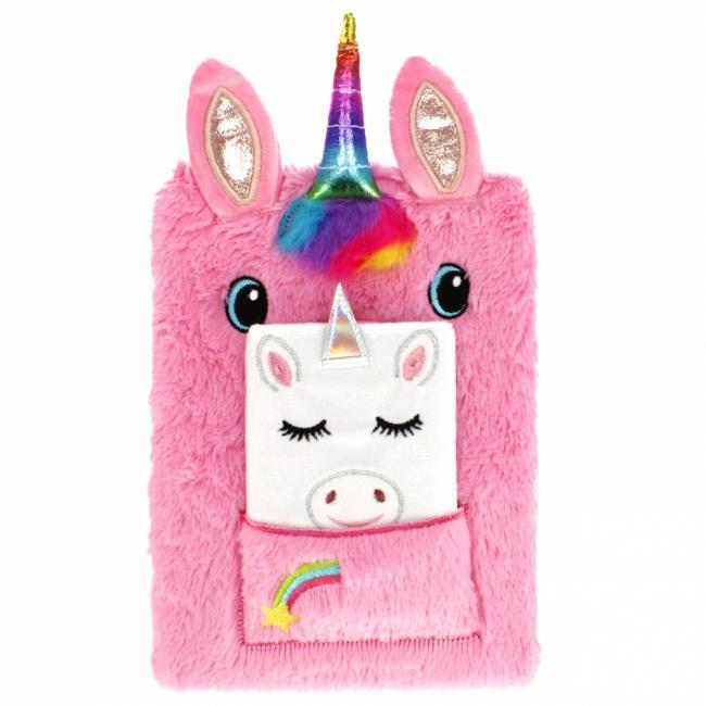 Pamiętnik pluszowy Unicorn STARPAK 443210
