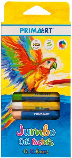 Pastele olejne 12 kolorów Jumbo PRIMA ART 385158