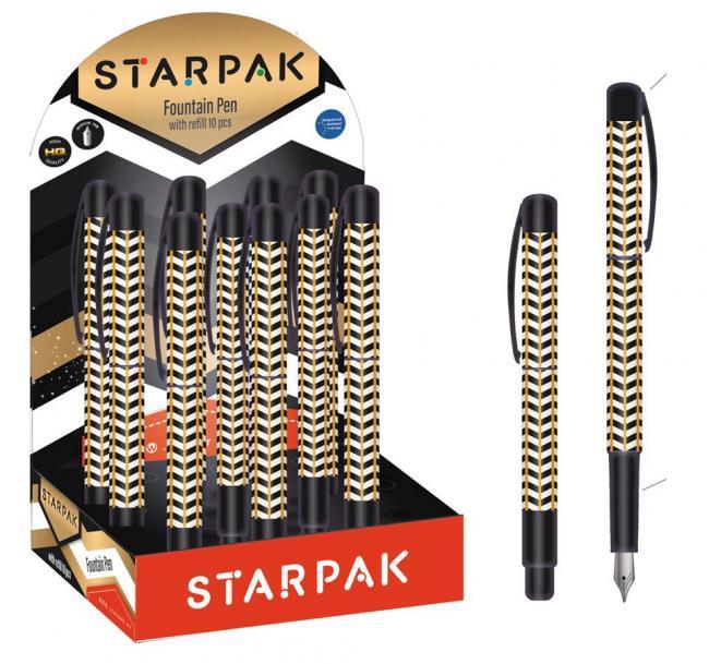 Pióro wieczne Elegant display 10szt STARPAK 452444