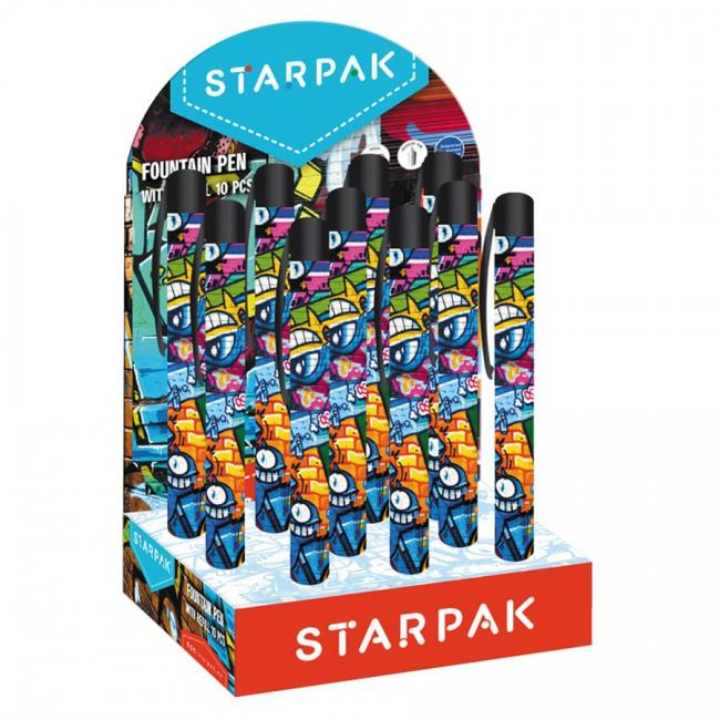 Pióro wieczne Graffiti display A 10 STARPAK 452435