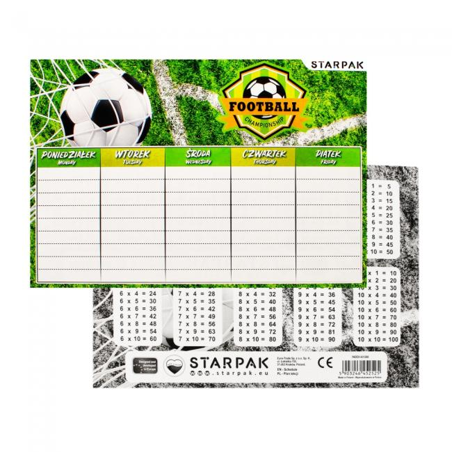 Plan lekcji Football STARPAK 431260
