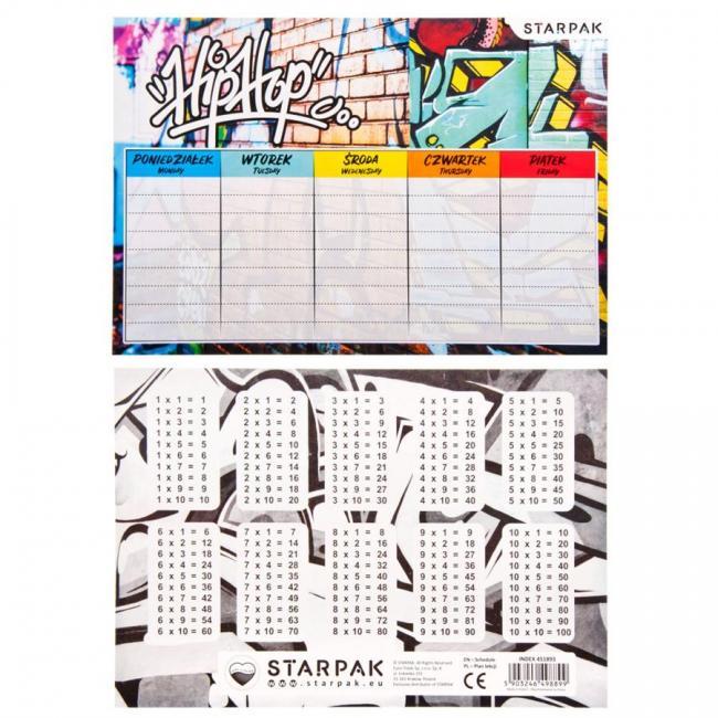 Plan Lekcji Graffiti STARPAK 451893