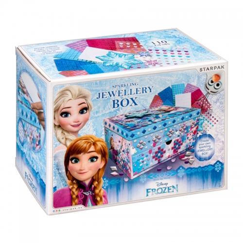 Pudełko na biżuterię do dekoracji Frozen STARPAK 386948
