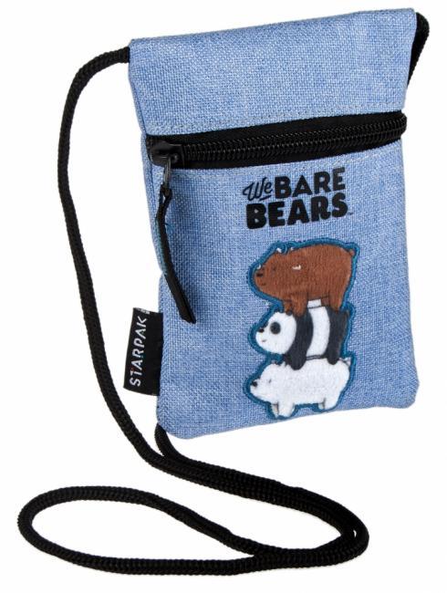 Saszetka na szyję We Bare Bears STARPAK 410016