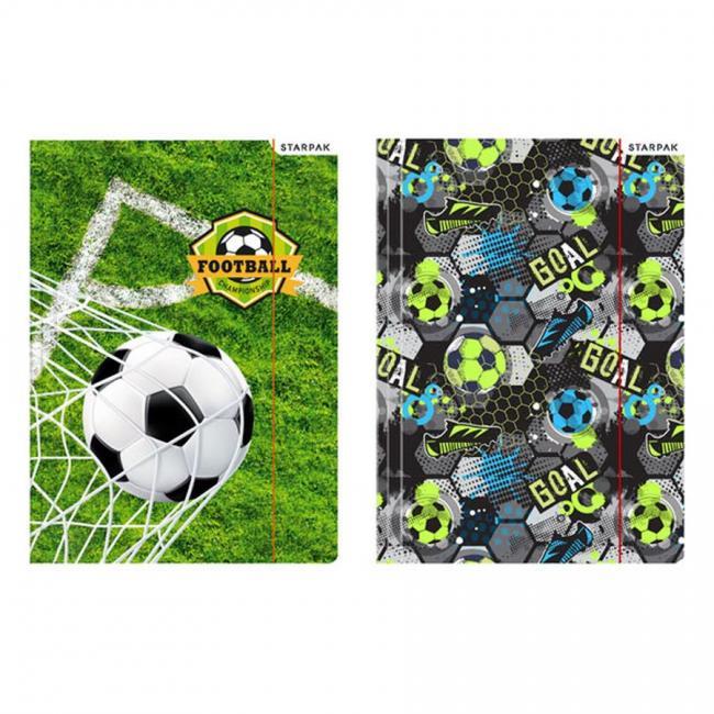 Teczka z gumką A4 Football STARPAK 447887