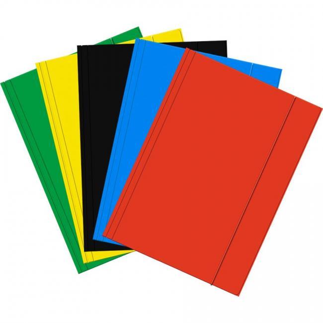 Teczka z gumką A4 mix kolorów STARPAK 431263