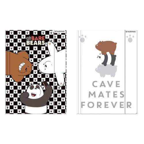 Teczka z gumką A4 We Bare Bears STARPAK 409233