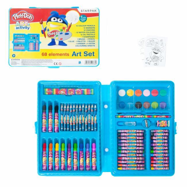 Zestaw artystyczny 68 elementów Play-Doh STARPAK 412614