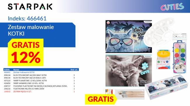 Zestaw do Malowania Kotki STARPAK 466461