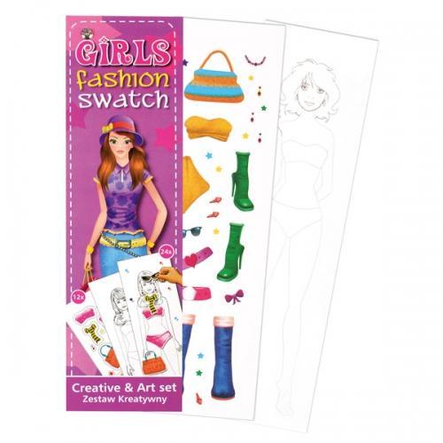 Zestaw kreatywny Girls Fashion STARPAK 311102