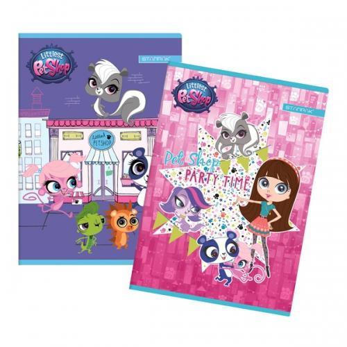 Zeszyt A5 16 kartek w linię Littlest Pet Shop STARPAK 247357
